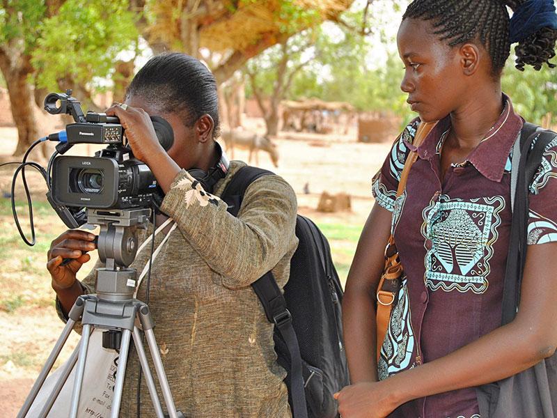 Fatoumata et Gabrielle