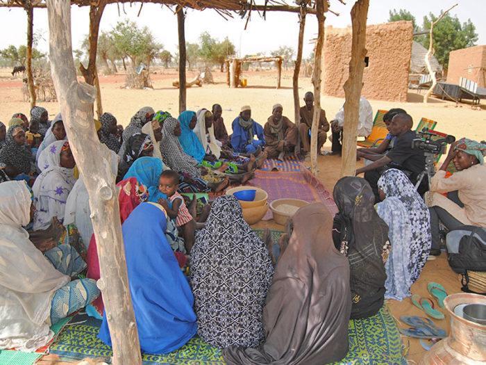 Collecte informations sur la transformation locale dans un village au Niger
